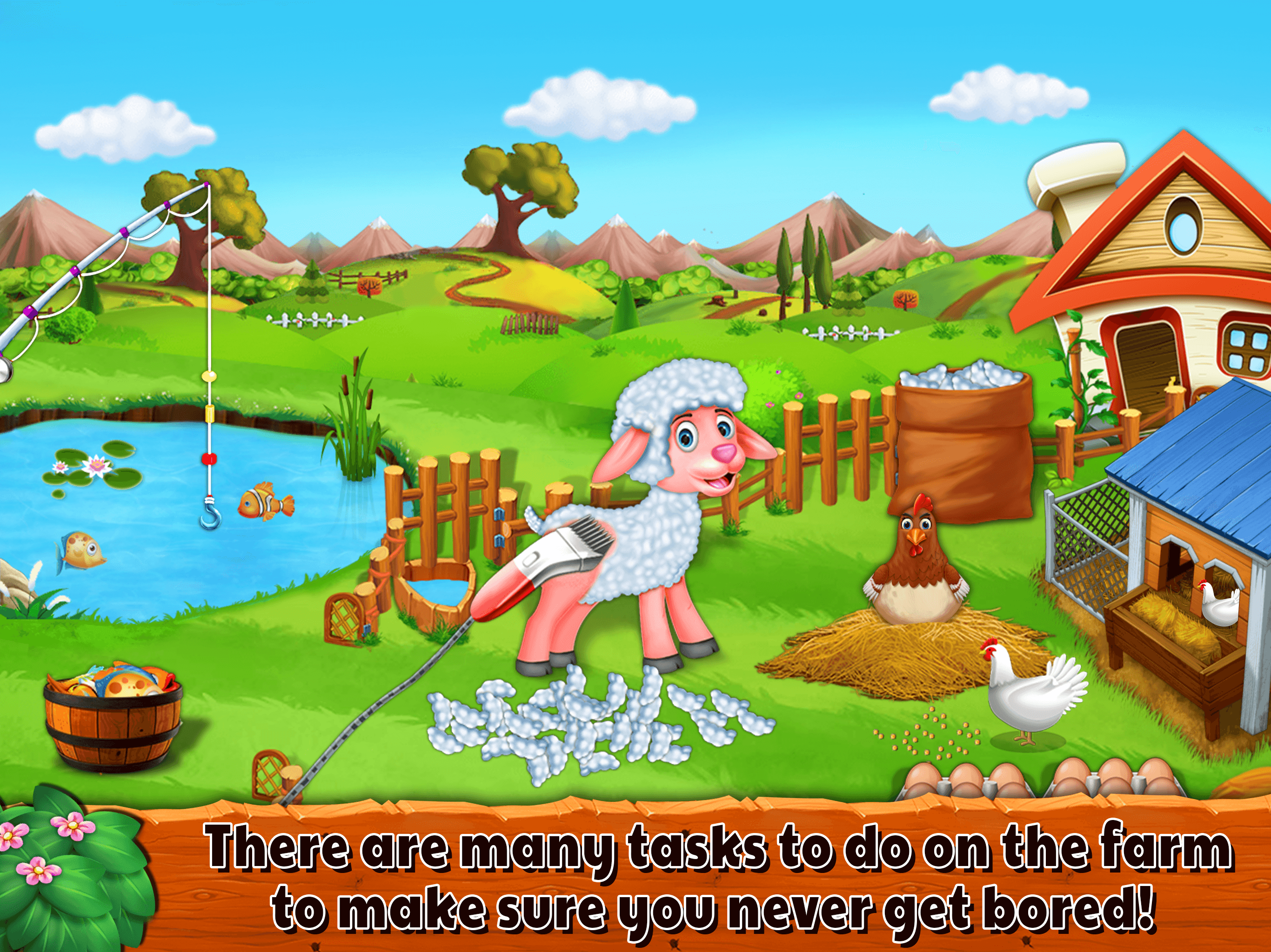 Cattle Farm Tycoon - Kids Farm Games - mFinity InfoTech