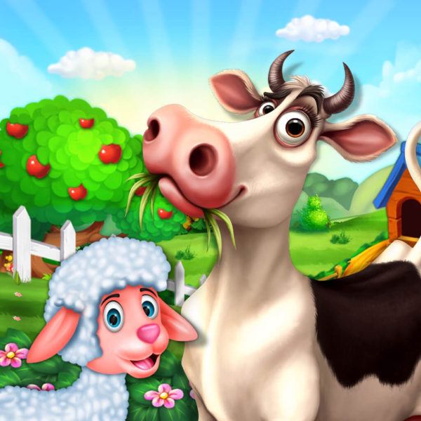 Cattle Farm Tycoon – Kids Farm Games